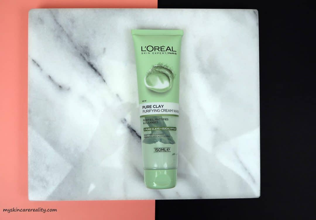 loreal pure clay perling
