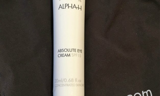 Alpha H Absolute Eye Cream SPF 15 Review