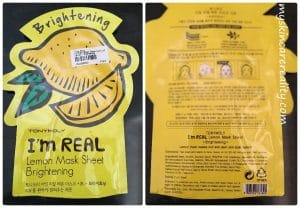 Weekly sheet mask review