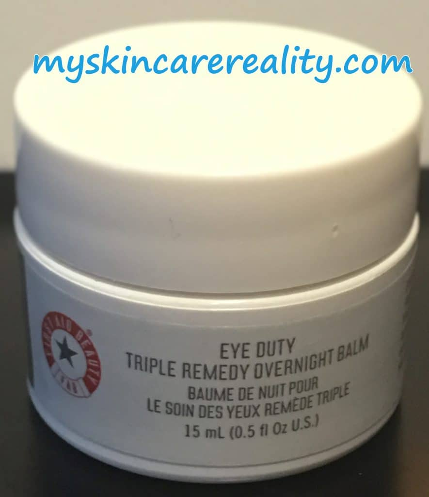 Triple Remedy Overnight Balm pic 1