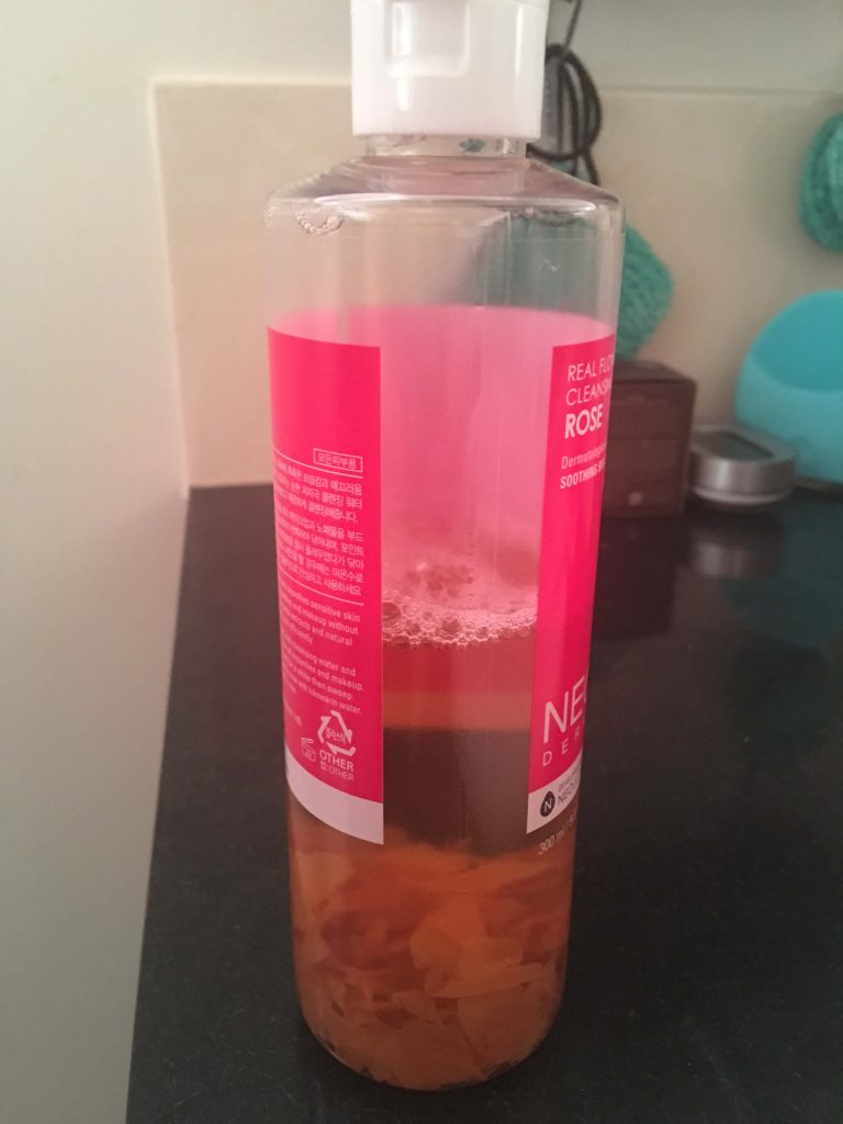 neogen rose cleansing water