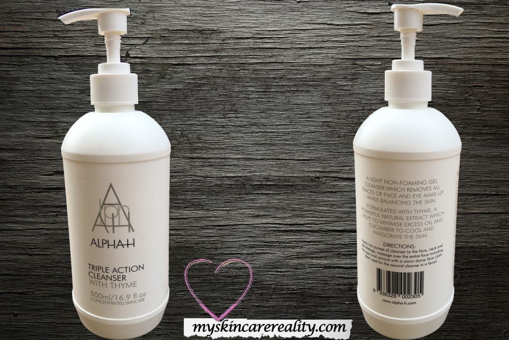 Alpha H Triple Action Cleanser Review