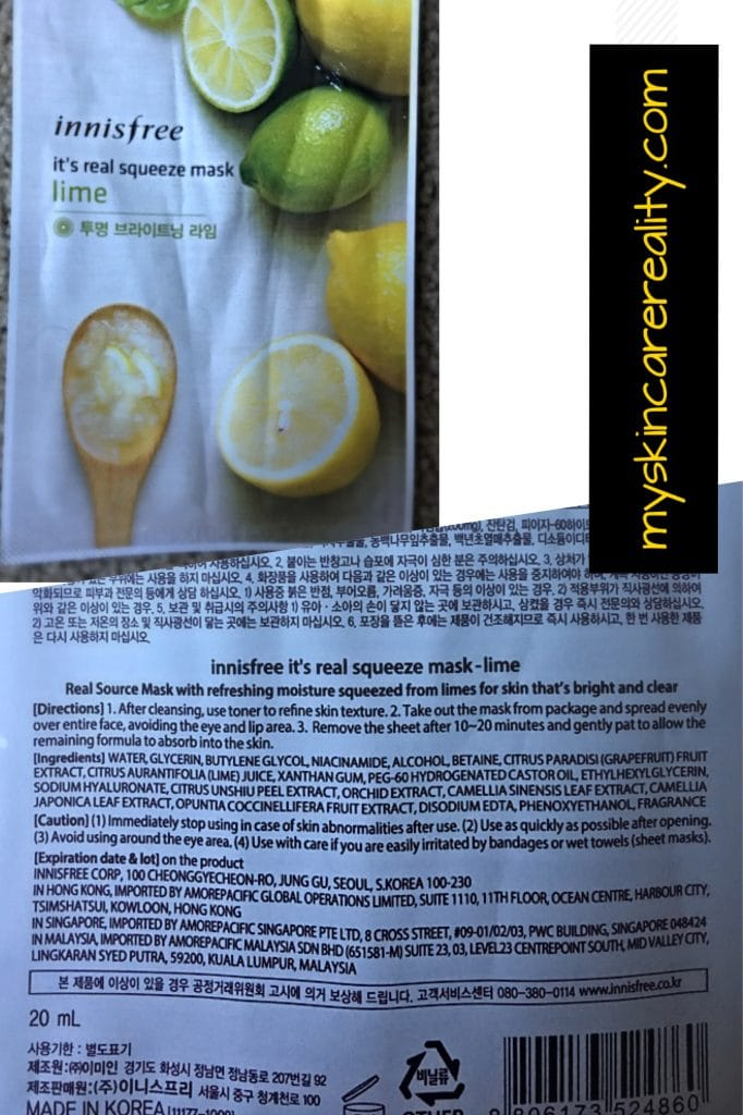 innisfree-lime-sheet-mask