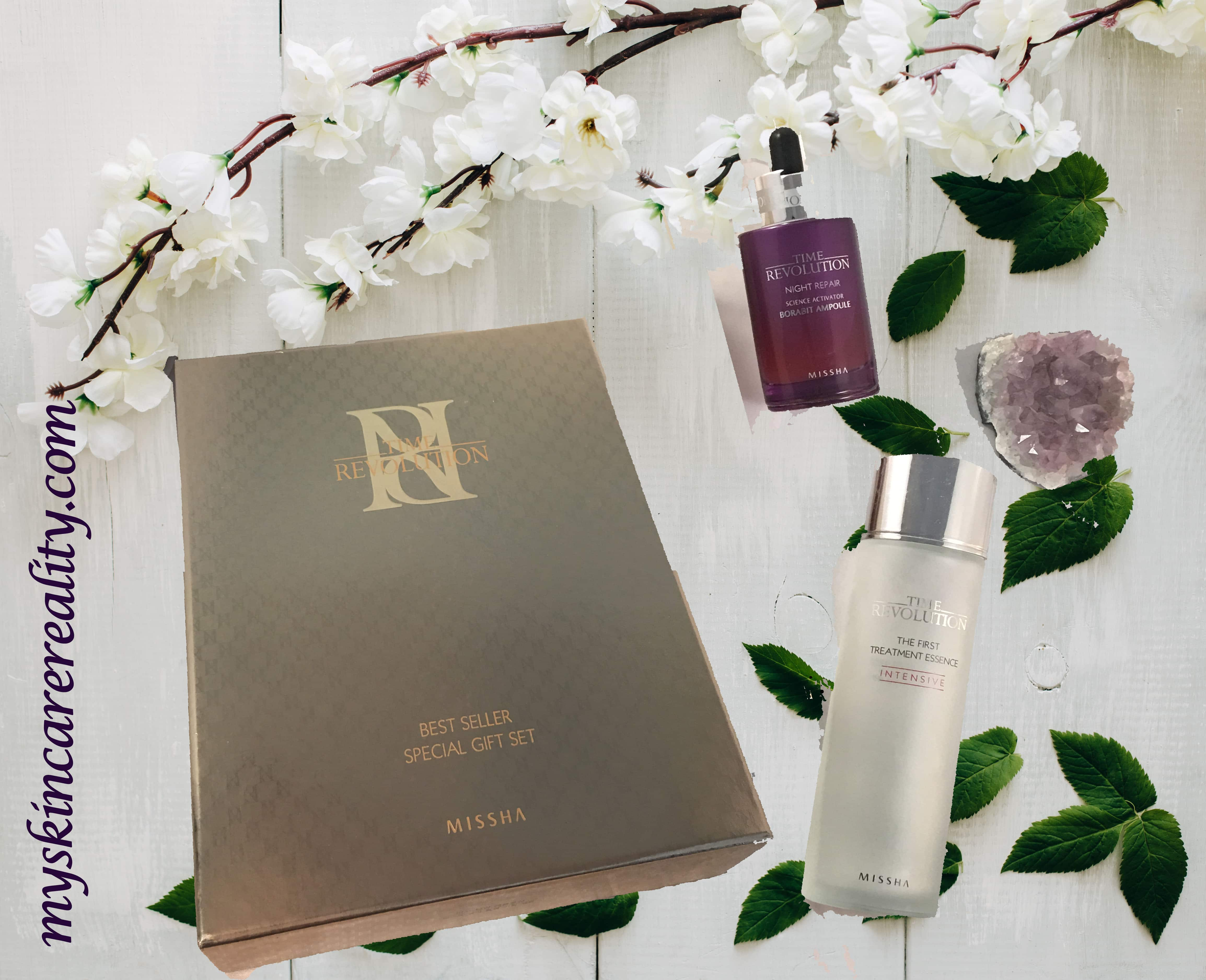 Missha Time Revolution Essence Ampoule Review The First Treatment Intensive Moist