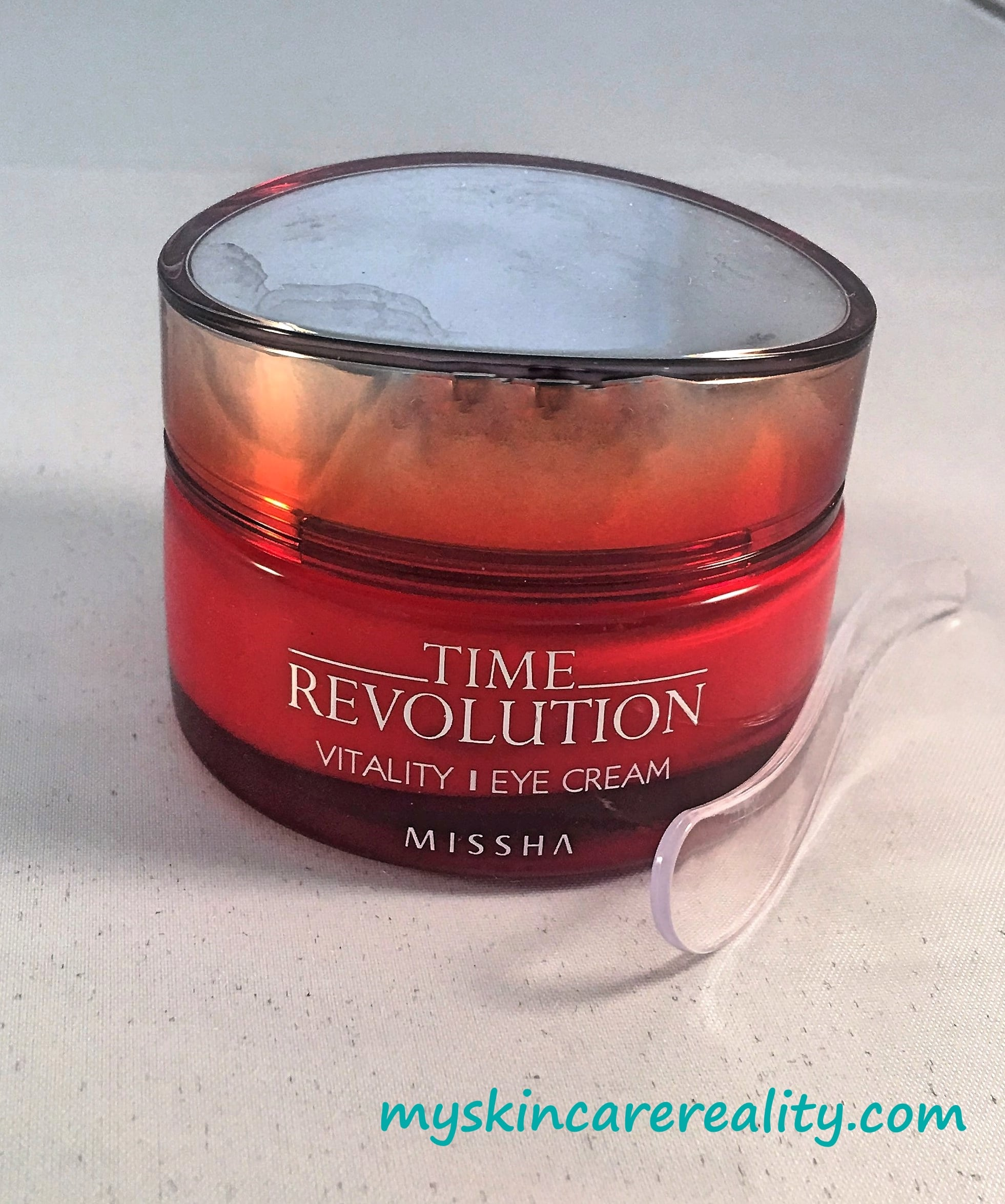 Missha Time Revolution Eye Cream Review