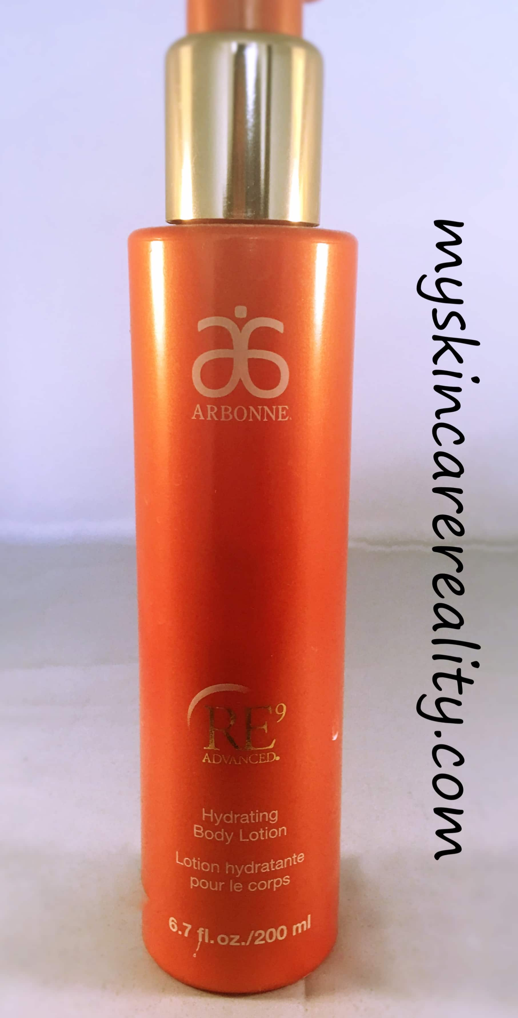 Arbonne RE9 Hydrating Body Lotion Review | Worth the Price?