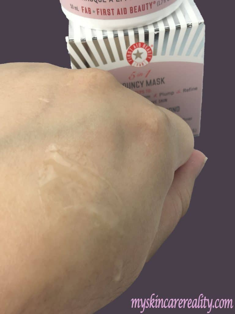 first-aid-beauty-bouncy-mask-review-sample