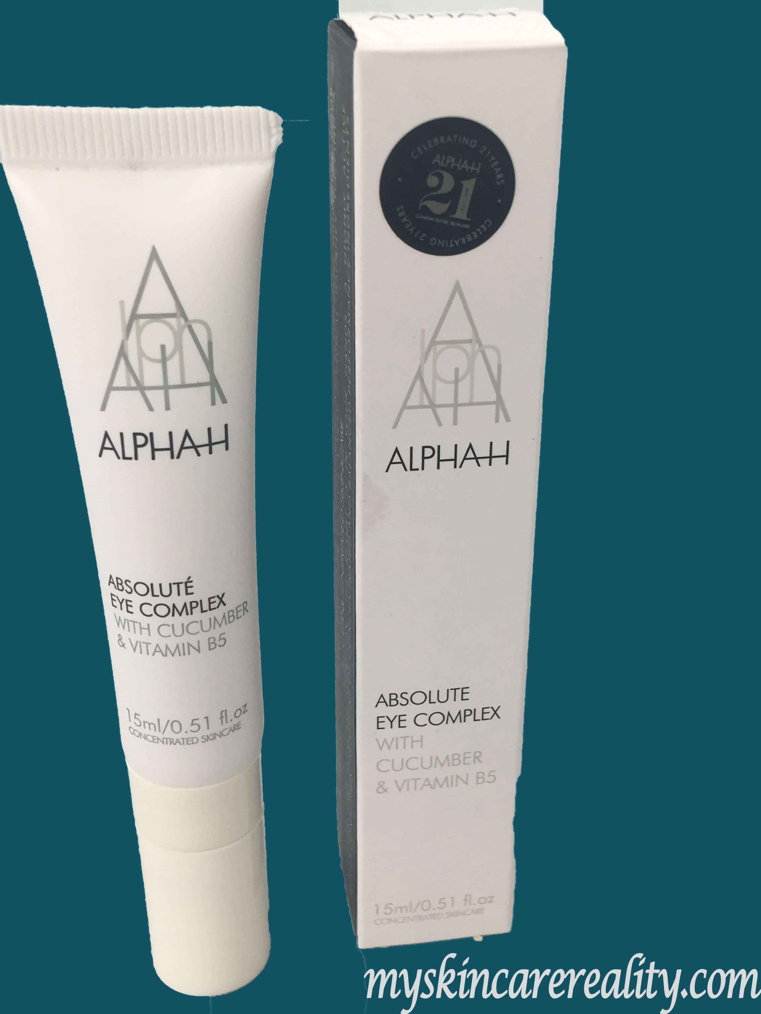 Alpha-H Absolute Eye Complex with Cucumber Serum Review