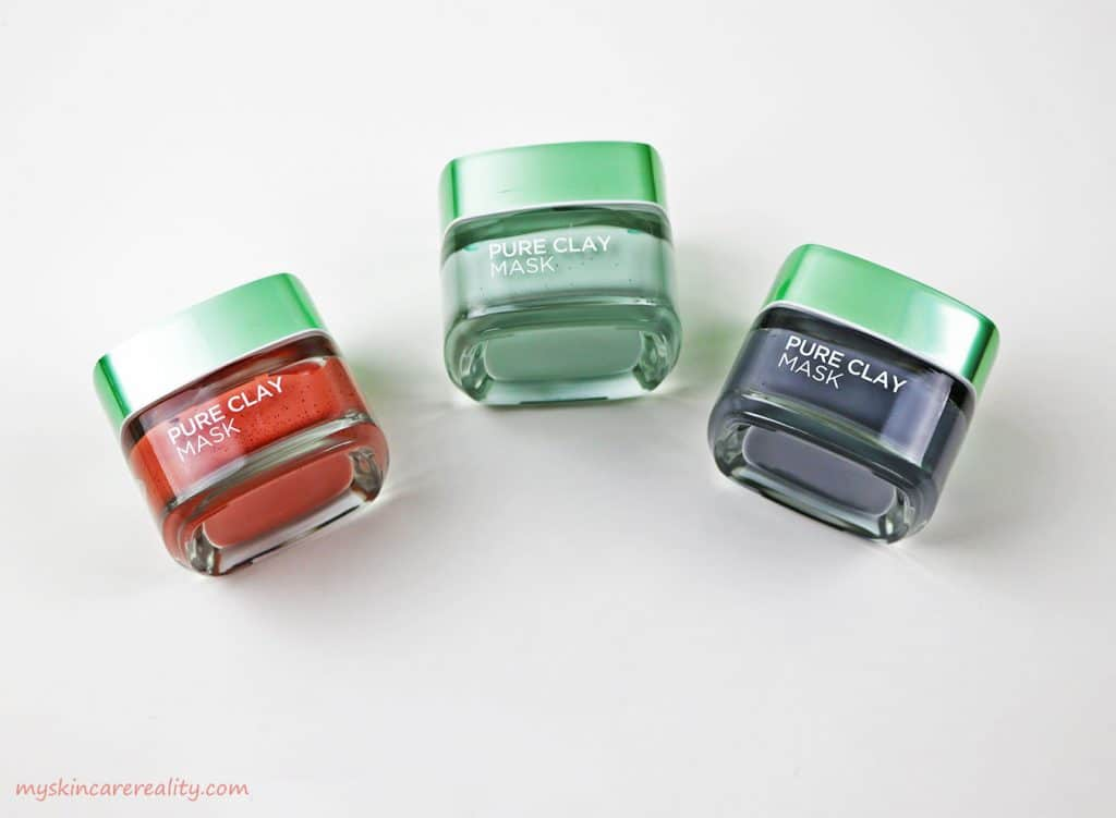 LOreal 3 x Pure Clay Masks Review