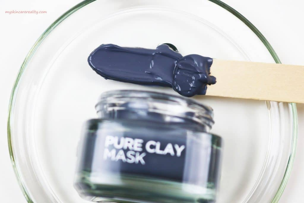 Pure Clay Mask Detoxifying - Brightening Charcoal Mask Review Sample