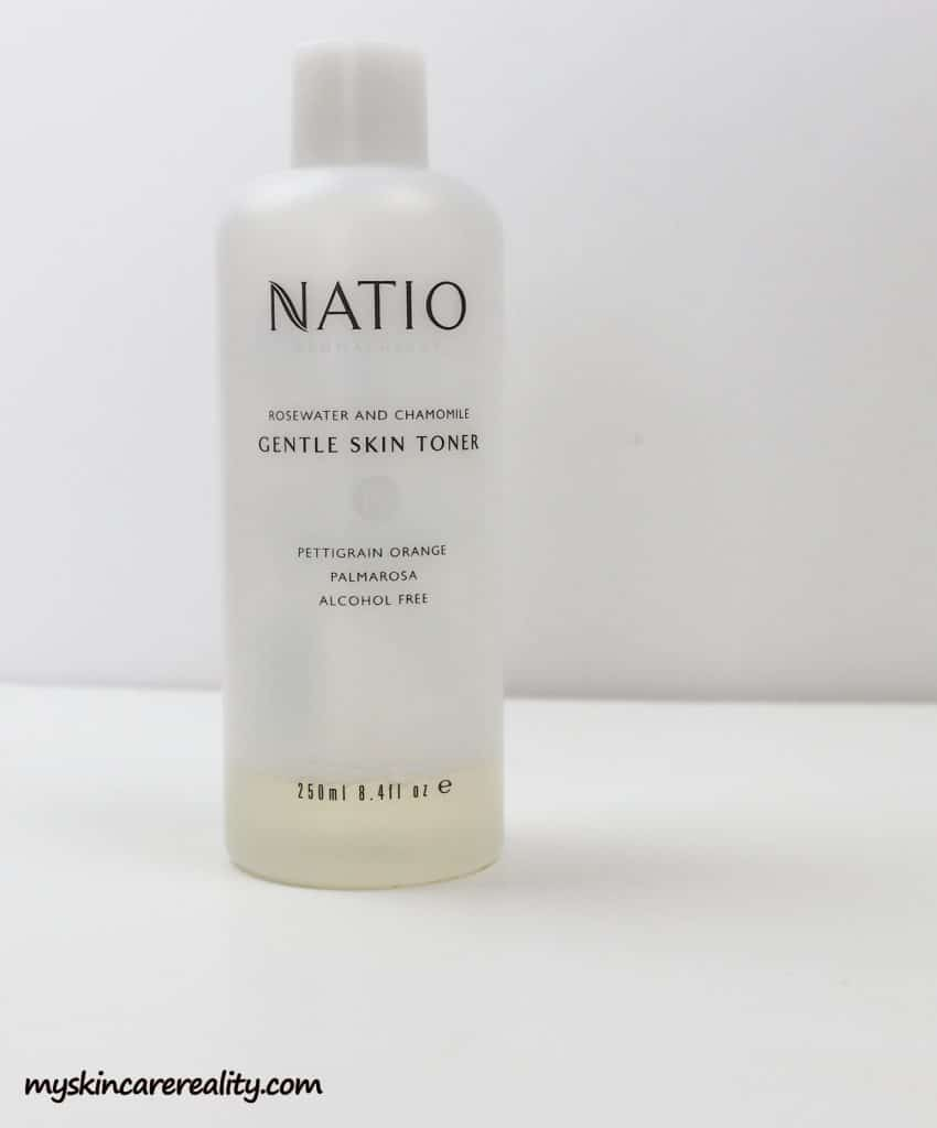 Natio Rosewater and Chamomile Gentle Skin Toner
