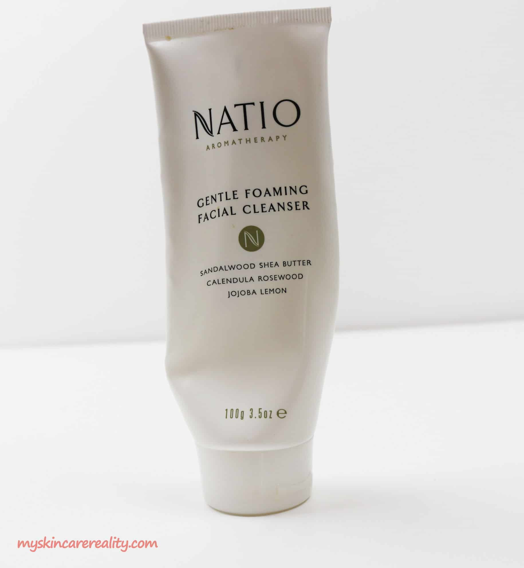 Natio Aromatherapy Gentle Foaming Facial Cleanser Review