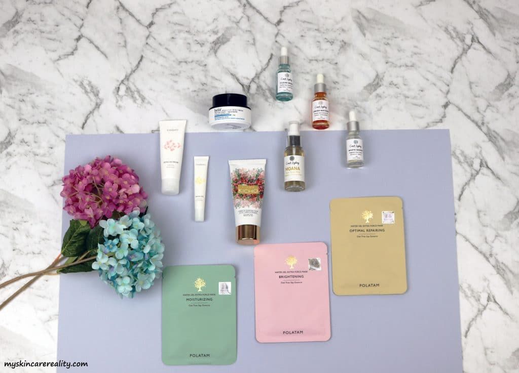 July 2017 Skincare Favourites
