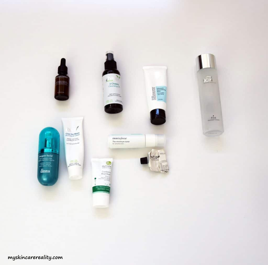 June 2017 Skincare Empties