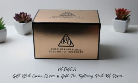 NEOGEN Code 9 Gold Black Caviar Essence & Gold Tox Tightening Pack Kit Review