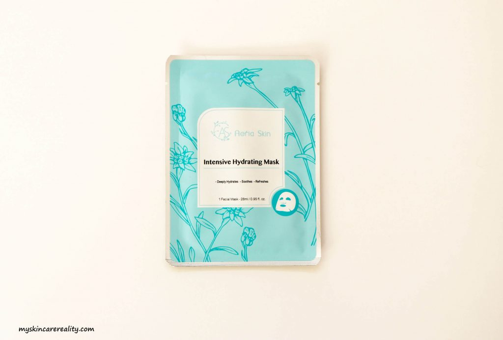 Aeria Skin Intensive Hydrating Mask Review 1