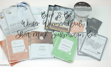 Bare and Be July 2017 Sheet Mask Subscription Box | Unboxing
