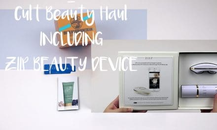 Cult Beauty Haul including ZIIP Beauty Device | September 2017