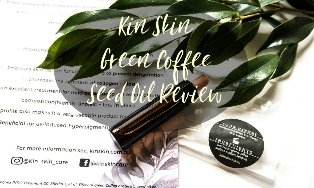 Green Coffee Seed Oil | Kin Skin | Skincare Review