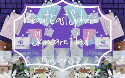 Beaut East Sphere Skincare Haul | Asian Beauty Brands