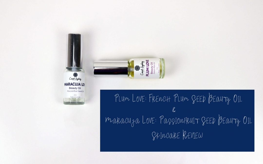Maracuja Love & Plum Love Beauty Oil Review | Coast Sydney Botanicals