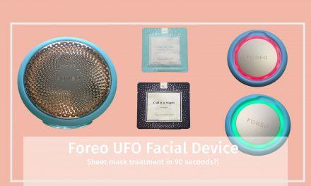 Foreo UFO Sheet Mask Facial Device Video | #UrFutureObsession